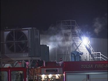 Paint Booth Catches Fire