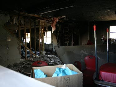 Computer May Have Sparked Blaze