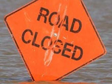 Roads Closed Due To Flooding
