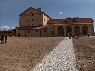 Worship Center Dedicated To Monastery