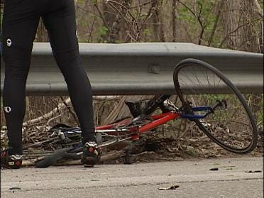 OHP Searching For Driver Who Hit Cyclist