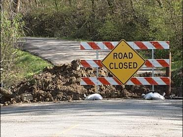 Road Collapse Has Residents Worried