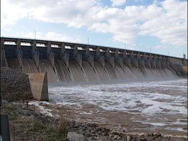 Dam Feeling Pressure From Heavy Rainfall