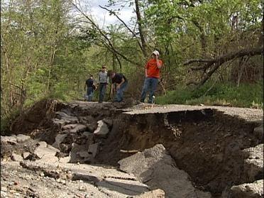 Landslide Destroys Family's Home