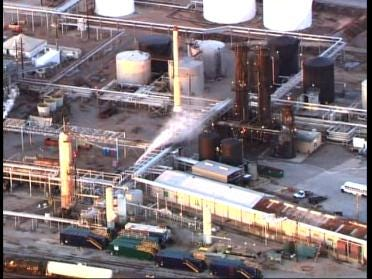 Refinery Explodes For Second Time In A Year