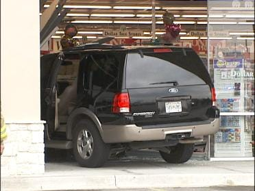 Driver Takes Takes Expedition Into Store