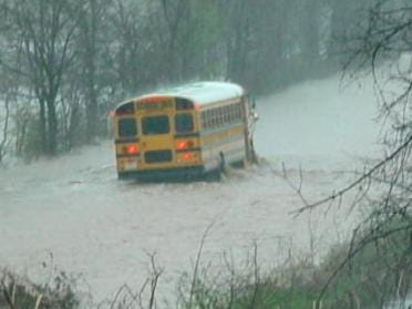 Flooding Raises Concerns About School Bus Safety