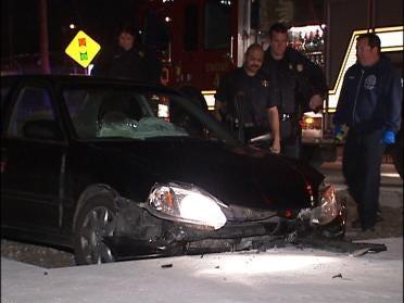 Police Investigate Overnight Traffic Accidents