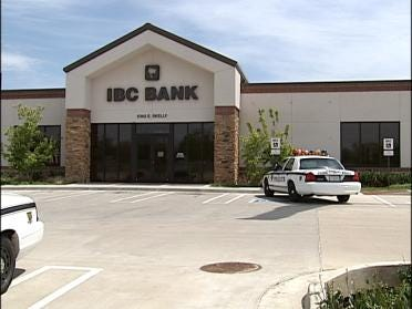 Bank Robbed On Sunday Afternoon