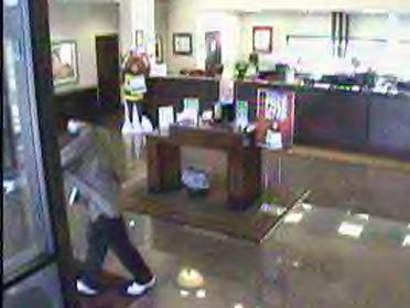 Search Continues For Bank Robbery Suspect