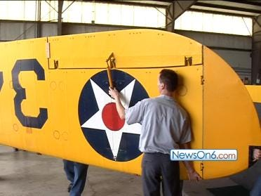 TASM Lands A Spartan NP-1 Biplane