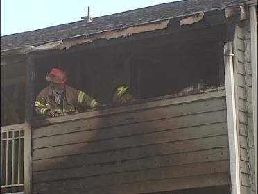 Apartments Damaged In Fire
