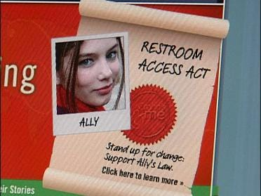 Student Taking Stand For Ally's Law