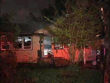 Fire Destroys Home Overnight