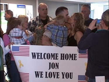 Broken Arrow Troops Return Home