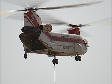 Helicopter Stuns Drivers Near Casino
