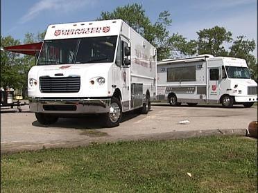 Salvation Army Unveils Kitchen On Wheels