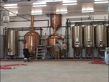 Tulsa Brewery Begins Business