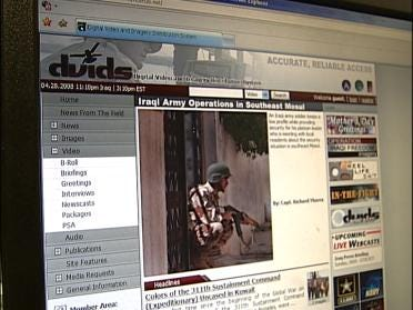 Site Lets Families Keep Up With Soldiers