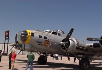World War II Bomber Takes Flight