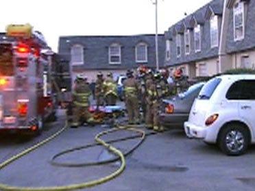 Fire Damages Apartment