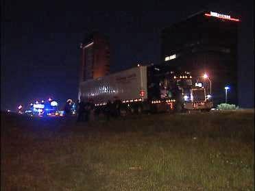 Truck Driver Found Dead