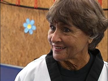 Grandmother Becomes Karate Queen