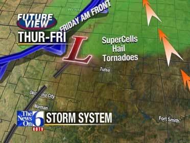 Risk Of Severe Storms Returns