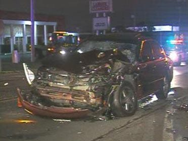 Accident Sends Two To Hospital