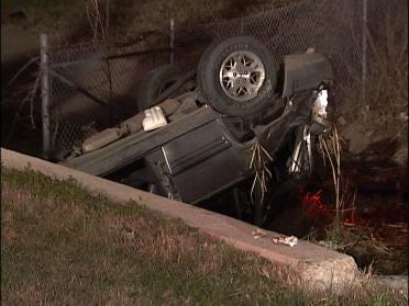 Drunken Driving Sends Woman To Hospital