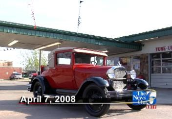 Model A Returns To Its Post