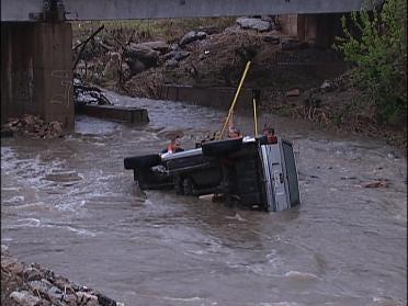 Severe Weather Wakes Up Eastern Oklahoma