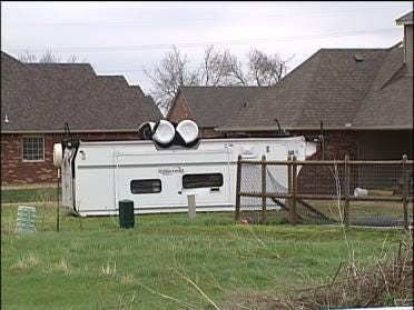 High Winds Rip Through Parts Of Tulsa County