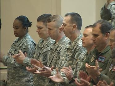 Soldiers Recognized For Sacrifice