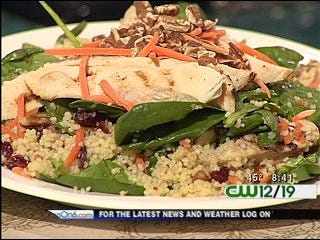 Grilled Chicken Couscous Salad