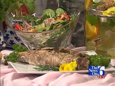Pork Tenderloin With Parsley, Rosemary & Garlic