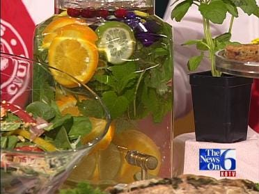 Refreshing Herbal Drink
