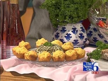 Sandra Twilley's Rosemary Corn Muffins