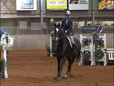 Horses Compete In Tulsa's Mid Winter Classic