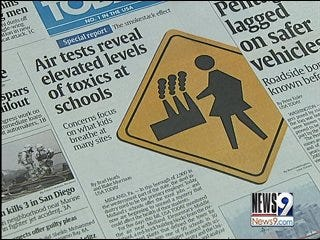 USA Today Reports Possible Toxic Air in Oklahoma Schools