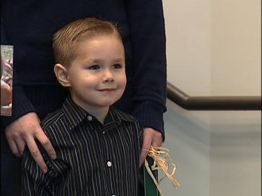 Broken Arrow 4-year-old Wins Big For Food Bank