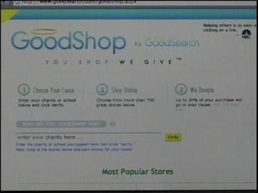 Good Search/Good Shop Helping Charities