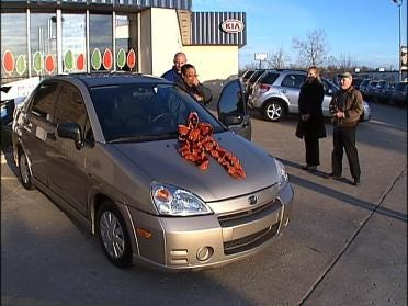 Mother Receives Car From Ferguson Superstore