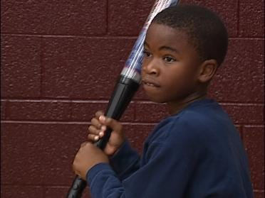 Tulsa Students Get Baseball Tips