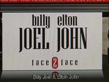Billy Joel And Elton John Tickets On Sale