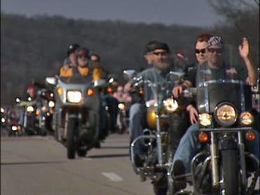 Bikers Participate In Annual ABATE Toy Ride