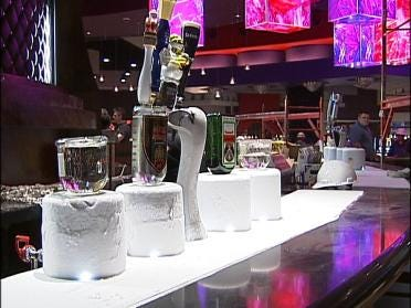 Cherokee Resort and Casino Opens New Ice Bar