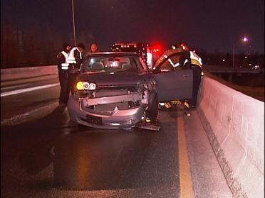 Police: Slick Roads Lead To BA Crash