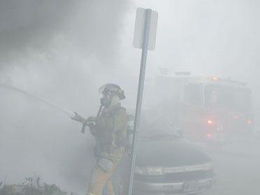 Flower Shop Fire In Downtown Okmulgee
