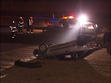 Rollover Tulsa Accident Injures One